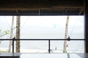 Kitesurfers at Viento